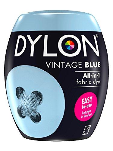 Dylon Textilfarbe für die Waschmaschine, 350 g, Vintage-Blau