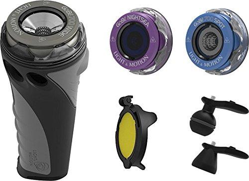 Light and Motion GoBe Combo Kit- 856-0519 (700 Lumens) Underwater Video Light