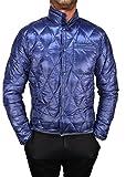 BPD Chaqueta de plumas 100 g. Hombre acolchado azul (S)