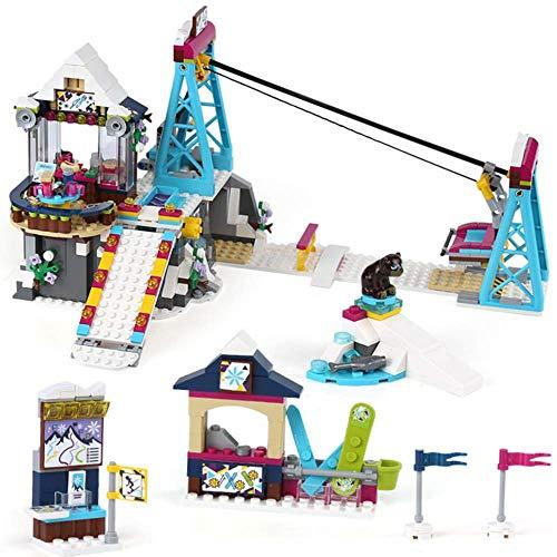 No/Brand 644PC Building Block Juguete para niños Livi Pop Star House Designer Toy Ensamblaje Compatible