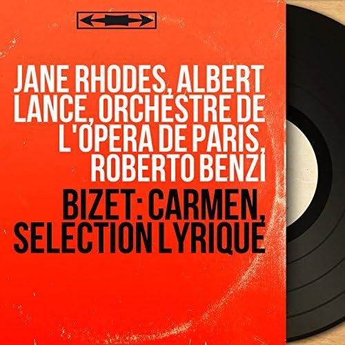 Jane Rhodes, Albert Lance, Orchestre de l'Opéra de Paris, Roberto Benzi