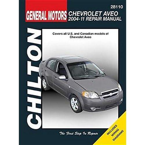 Chevrolet Aveo 2004 2011 Chilton Automotive Haynes Publishing