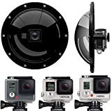 GDome PDS Underwater Dome Compatible for GoPro Hero 4/3 / 3+ Waterproof 98ft (30 Meters)