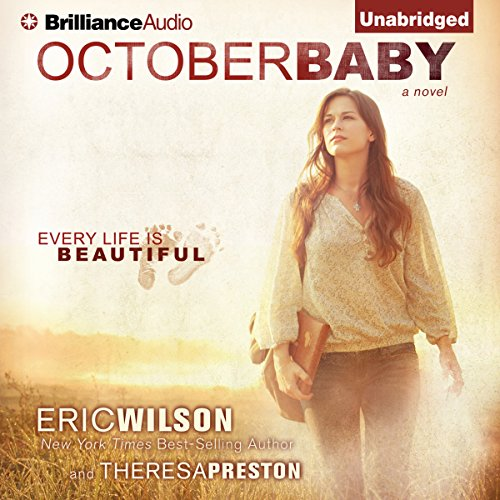 October Baby audiobook cover art