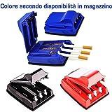 DOBO® Macchinetta riempi 3 sigarette contemporaneamente riempi tubo macchina automatica sigaretta tabacco rollatore per sigarette vuote