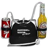 Trinkhelm Spaßhelm mit Print - Alkoholtester on Tour - 51630 Farbe schwarz