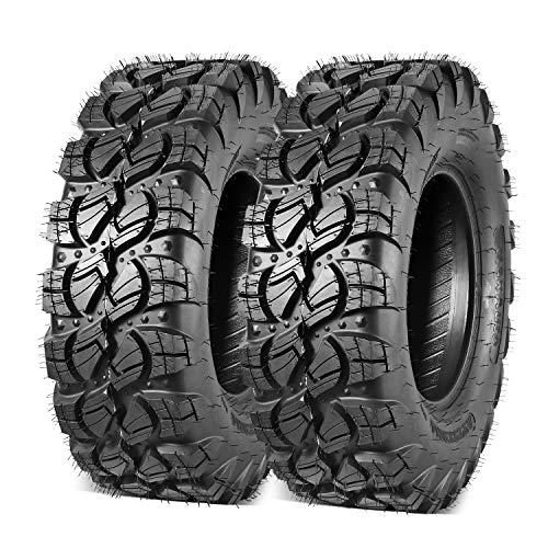 Set of 2 Maxauto ATV UTV All Terrain Tire 29x9-14 Front 29 9 14 Off-Road Tires 29x9R14 Radial Tire Mud Sand Trail Tire 6PR Tubeless