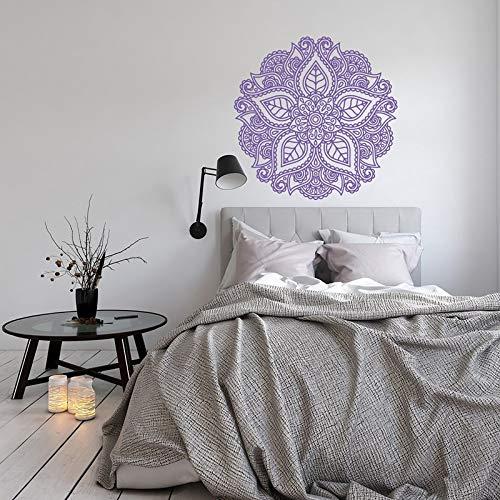 New mandala design wall sticker yoga mandala sticker wall decoration bedroom living room nursery dormitory wall sticker A2 42x42cm