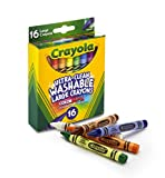 Crayola Ultra Clean Washable Crayons, Large Crayons, 16Count