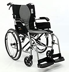 Best Narrow Width Self Propelled Wheelchairs #2 - Karman Ergonomic Ultra Lightweight Wheelchair