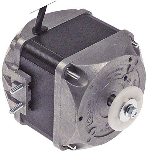 ebm-papst M4Q045-EA01-75 Lüftermotor 230V 25W 1300/1550U/min 50/60Hz 5 Befestigungsoptionen Breite 77,5mm Geschwindigkeiten 2