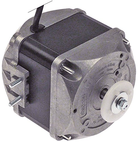 ebm-papst M4Q045-EA01-75 - Motore per ventola, 230 V, 25 W, 1300/1550U/min, 50/60 Hz, 5 opzioni di fissaggio, larghezza 77,5 mm, velocità 2