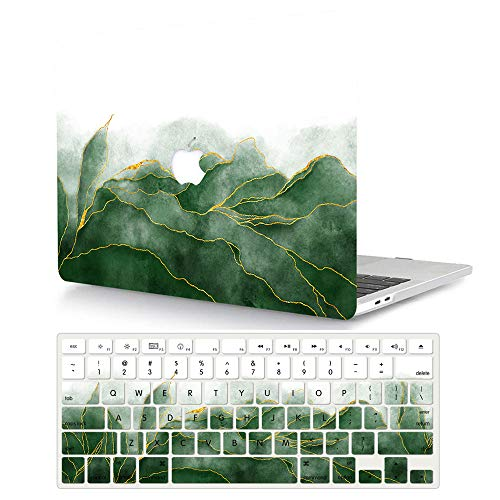 ACJYX Compatible with 2016-2020 MacBook Pro 13 inch Case model A2338 M1 A2289 A2251 A2159 A1989 A1706 A1708, Protective Plastic Hard Shell Case + Keyboard Cover Skin - Wonderland
