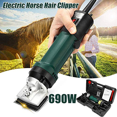 690W Electric Horse Equine Cattle Clippers, Professional...