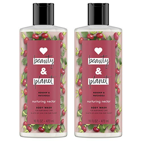 Love Beauty And Planet Body Wash Rosehip & Patchouli 16 oz 2 Count