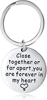 KOORASY Birthday Gifts for Mom Keychain Mom Gifts Puzzle Keychains Set Gift for Mom Inspirational Gifts for Women Men