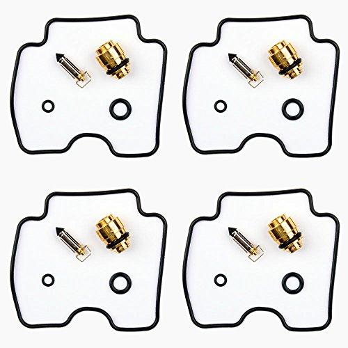 4x Vergaser Reparatursatz Dichtung Kit passend für Yamaha FZS 600 H N SH SN Fazer