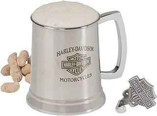 Harley-Davidson Bar & Shield Motorcycle Stainless Steel Mug and Hook Set, 18 oz. HDL-18607
