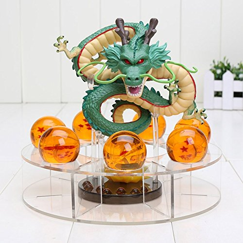 Dragon Ball Z Shenron Action Figure Statue with balls and stand eWD Import