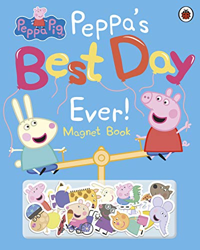 Peppa Pig: Peppa's Best Day Ever: Magnet Book