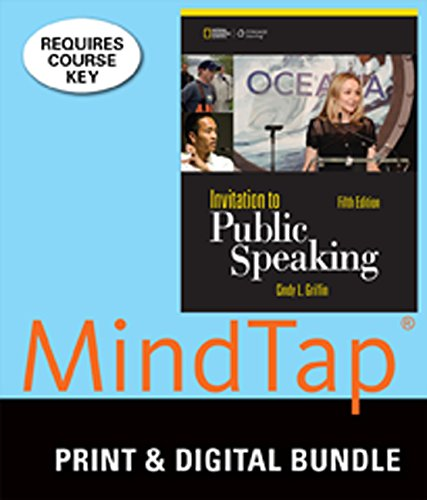 Bundle: Invitation to Public Speaking - National Geographic Edition, 5th + MindTap Speech, 1 term (6 months) Access Code