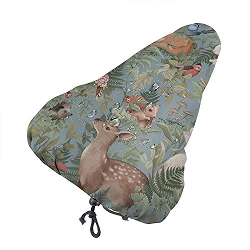 W-FLY Woodlands Animals Forest Pattern Funda Impermeable