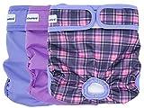 Petsweare wasserdicht saugfähigkeit waschbare robuste Wiederverwendbare Hundewindeln läufigkeitshose inkontinenzunterlage für