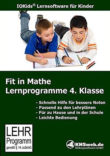Fit in Mathe: Lernprogramme 4. Klasse