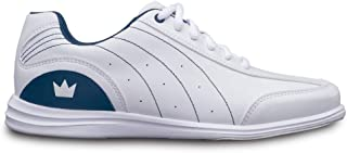 Brunswick Ladies Mystic Bowling Shoes- White/Navy