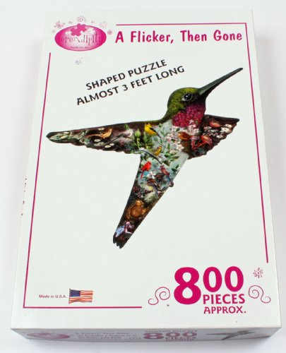 Serendipity Puzzle Company A Flicker Then Gone 1000 Piece Jigsaw Puzzle