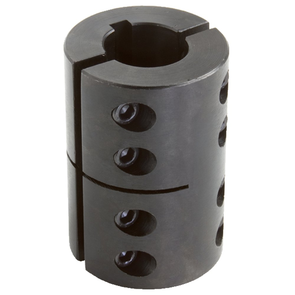 Climax Today's only Part 2CC-137-100-KW Seasonal Wrap Introduction Mild Steel Clamp Black Oxide Plating
