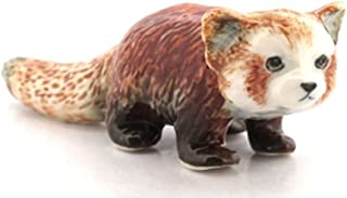 3 D Ceramic Toy Red Panda No.2 Dollhouse Miniatures Free Ship