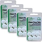 SimpleAir Clean Flow HVAC Drain Line Treatment Tabs, 6 pk, Pack of 4 (Total 24 Tablets)