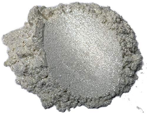 51g/1.8ozDiamond Silver Pearl Black Diamond Pigments Multipurpose DIY Arts and Crafts Additive   Natural Bath Bombs, Resin Art, Slime, Epoxy, Soap, Nail Polish