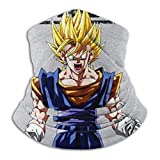 Nanobibi Train Insaiyan Super Saiyan Dragon Ball Z - Mascarilla unisex de microfibra para el cuello
