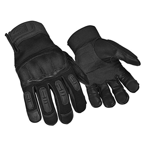 Ringers Gloves R-557 Tactical Hard Knuckle, Carbon Fiber Knuckle,...