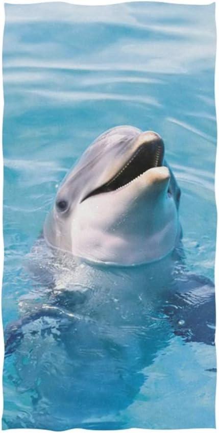 Hand Towels Ranking TOP19 Dolphin in Ranking TOP4 Clear Ocean Towel Soft Water Bathro Bath
