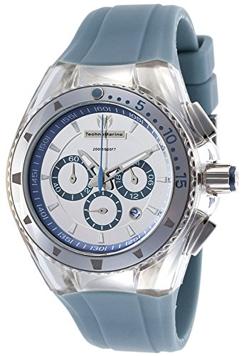 TechnoMarine 110066 - Orologio da polso, cinturino in plastica colore blu