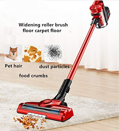 Buy Smile Wireless Vacuum Cleaner, in Addition to Locust 9000Pa Large Suction, All-Round Cleaning, Good Cleaning, red,Red