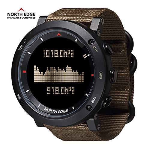 RENYAYA North Edge Männer Sport Digitaluhr Stunden für Laufen Schwimmen militärischen Armee-Uhren wasserdicht 50m Stoppuhr