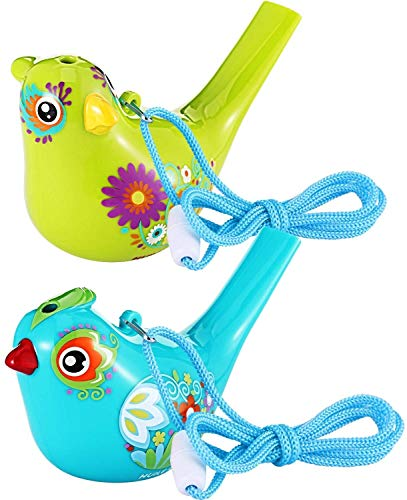 BHSHOP Vogelfluitje, kleurrijke vogel waterfluitje for badspeelgoed, badvogel fluitje for kinderen, verjaardagscadeau, Pasen-geschenk, geassorteerd BHSHOP