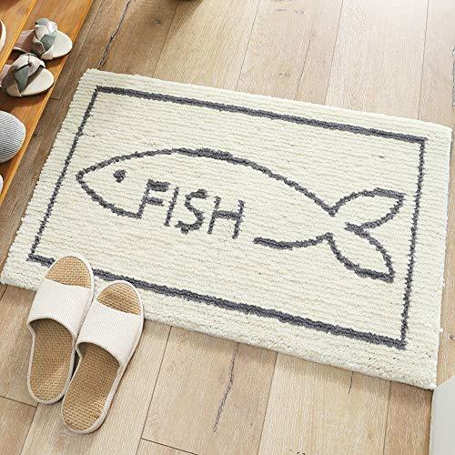 ZHHAOXINAR Teppich, superweiche Teppiche für Wohnzimmer, Flauschiger Noppenteppich Geeignet als Schlafzimmerteppich Home Decor Teppiche Kindermatte, White, 50 * 80cm