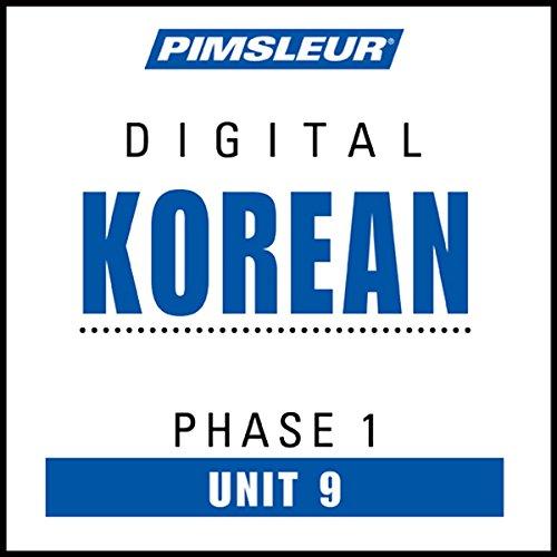 Korean Phase 1, Unit 09 audiobook cover art