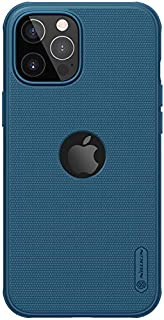 """Nillkin Case for Apple iPhone 12 / iPhone 12 Pro (6.1"""" Inch) Super Frosted Shield Pro Magnetic Hard Back Soft Border (PC +..."""