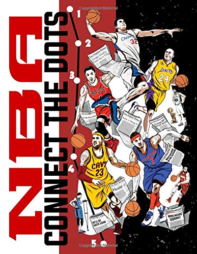 Nba Connect The Dots: High-Quality Connect Dots, Coloring, Activity Books For Adults, Boys, Girls