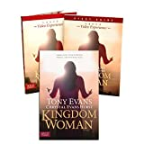 Tony Evans Kingdom Woman Full Set (Book + DVD + Study Guide) - Kingdom Woman: Embracing Your Purpose, Power, and Possibilities