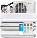 Senville 28000 BTU Tri Zone Mini Split Air Conditioner Heat Pump SENA-30HF/T