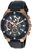Best Casio Edifice Watches - Casio Edifice Chronograph Black Dial Men's Watch EFR-569BL-2AVUDF(ED491) Review