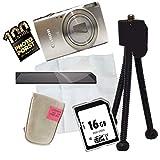 6x Canon Digital Ixus 510 Hs Protector De Pantalla Pantalla Película Plástica Transparente