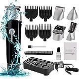 Haarschneidemaschine,JUSTDOLIFE 10 in 1 Elektrischer Haarschneider für Männer Haarschneidemaschine...